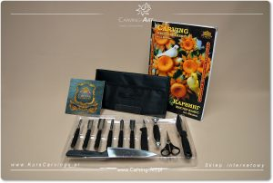 Zestaw narzędzi do Carvingu Borner