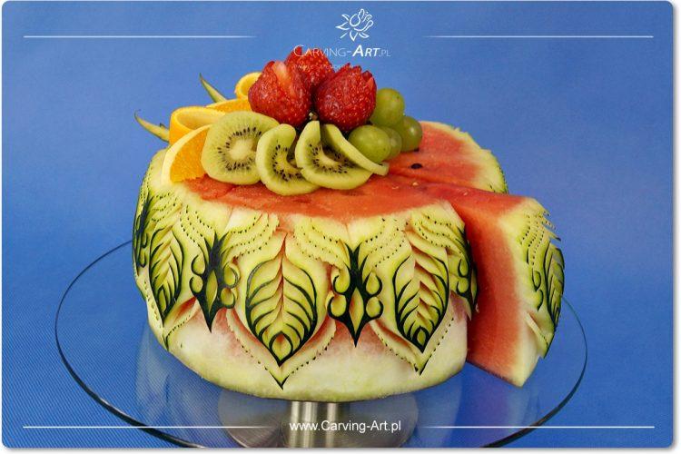 tort z owoców