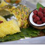 Maliny w kokosie