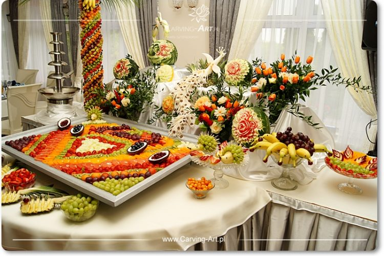 Owoce na stole