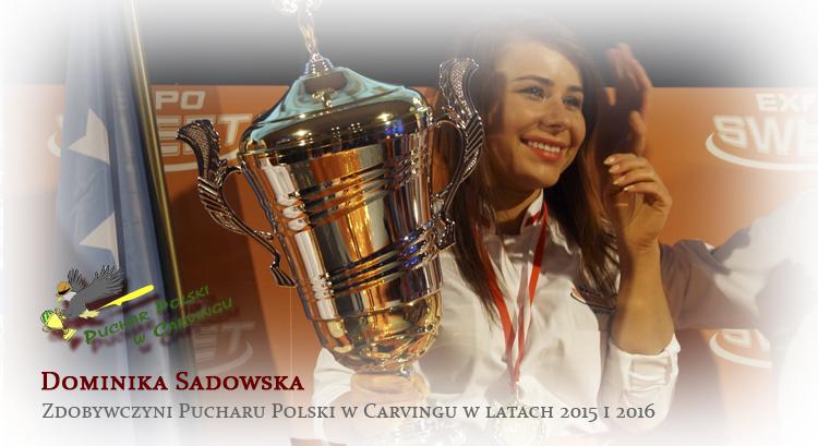 Dominika Sadowska wygrywa Puchar Polski w Carvingu