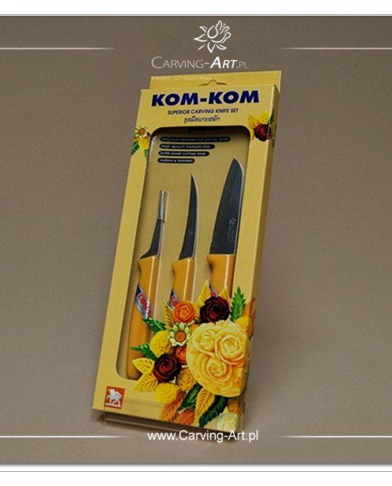 Zestaw noży Kom-Kom