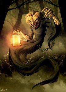 Kostucha Halloween