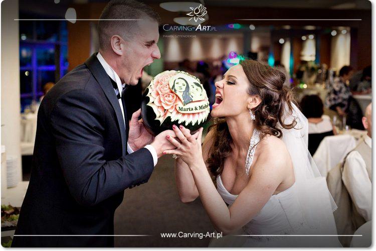 owoce na ślub