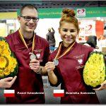 Dominika Sadowska i Paweł Sztenderski - srebrni medaliści IKA 2016