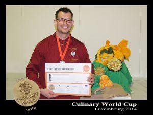 Paweł Sztenderski – srebrny medalista Culinary World Cup