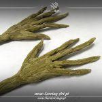 Duże ręce do dyni