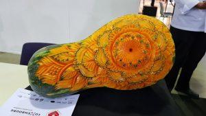 Rzeźbiona dynia